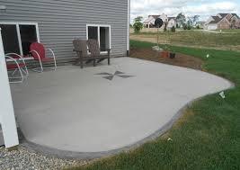 design of concrete patio ideas diy paint designs stain simple concrete patio ideas shapes