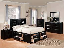 california king bed. ACME Furniture ACME-14102CK Manhattan Black Finish California King Bedroom Set Bed