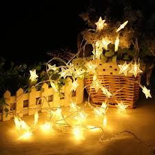 Indoor string lighting Creative 3m Star Fairy Lights Battery Operated Led Christmas Lights Outdoor Indoor String Garland For Tree Garden Bedroom Home Decoration Event Magic 3m Star Fairy Lights Battery Operated Led Christmas Lights Outdoor