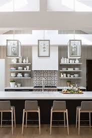 Vertical Tile Backsplash Unique Symmetry In The Kitchen KarynRMillet Interiors Exteriors