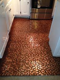 My penny floor!