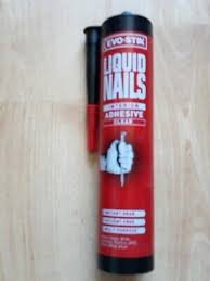 evo stik liquid nails instant grab