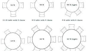 6 foot round table 6 foot round table seats how many round tables that seat 8