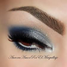 blue night love blue makeup
