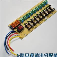 12v dc power distribution 9 way pcb board terminal block for Main Disconnect Switch at Fuse Distribution Box And Main Switch