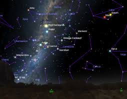 Omega Centauri Star Chart In The Southern Sky Arguably One Of The Most Beautiful Is