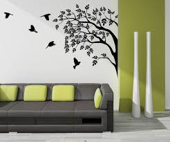 painting on the wallDecoration for Your Home Interior With Stunning Tree Images Wall Art
