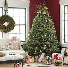real-live-decorated-christmas-tree Set up: