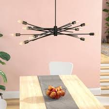 10 light chandelier light chandelier modena 10 light sputnik chandelier