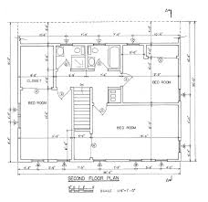Free Saltbox House Plans   Saltbox House Floor PlansSaltbox House nd Floor Plan