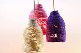 transform a plastic bottle into a stylish lamp