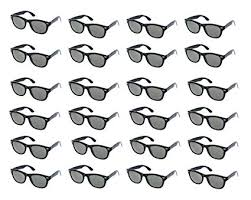 Party Sunglasses - 24-Pack Vintage 80s Retro Trendy ... - Amazon.com