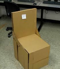 image of make cardboard chairs cardboard furniture for sale