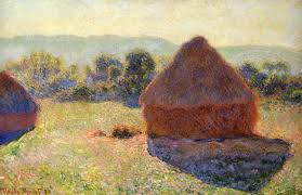 claude monet 1840 1926 grainstacks in the sunlight midday oil on canvas