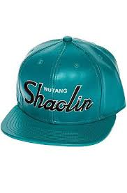 Wutang Brand Limited Hat Shaolin Vegan Leather in Teal ...