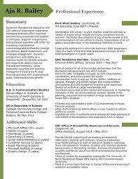 Host Resume Adorable Resume