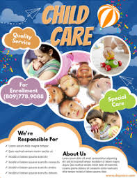 700 Child Care Customizable Design Templates Postermywall