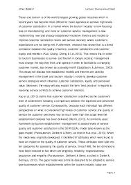 customer service and selling essay customer service and selling essay id no 0594617 lecturer sheree anne o neill page 1 travel and
