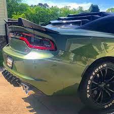 Dodge Charger Srt Hellcat Daytona Wicker Bill Add On Spoiler Etsy Dodge Charger Charger Srt Hellcat Dodge Charger Srt