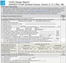 Certified Hvac Designer Energy Star Hvac Design Report 4 Heating Cooling