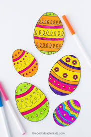 If you would like to print the picture to color with crayons, simply save it, then print it, before coloring online. 20 Best Easter Coloring Pages For Kids Easter Crafts For Children