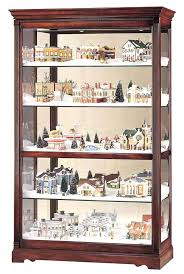 large curio cabinet detailed image of the miller village large curio cabinet large black curio cabinet