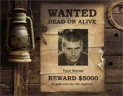wanted photoshop template wanted poster template psd free resume examples samples