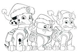 Paw Patrol Coloring Pictures With X For Make Perfect Paw Patrol