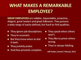 what makes a great employee work and motivation unit ppt video online download
