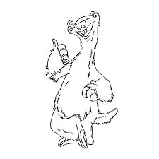 Small Picture Ice Age Coloring Pages4 Coloring Kids