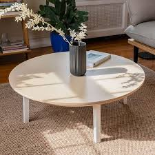 pearson round coffee table