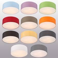Lhg Deckenleuchte Lampenschirm Chintz Stoff D62cm Verschiedene Farben