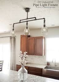 Home industrial lighting Homemade Diy Industrial Pipe Multilight Fixture Farmhouse Lighting Industrial Farmhouse Decor Kitchen Pendant Pinterest 120 Best Diy Industrial Lighting Ideas Images Industrial Lighting