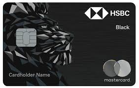 hsbc black credit card credit cards