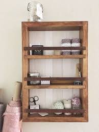 new bathroom wall shelving 17 d i y wooden shelf that you can make just in one day