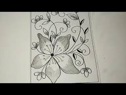 16 contoh gambar sketsa bunga yang mudah digambar hamparan. Sketsa Batik Bunga Sederhana