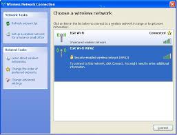 how do i set up my wireless connection in windows xp note for windstream equipment the wireless network is located on the bottom or back of the modem next to ssid
