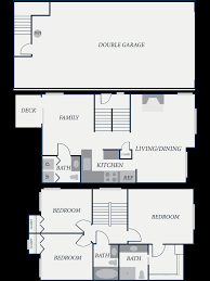 Apartment Floor Plans Clarence NY  Waterford TownhomesTownhomes Floor Plans