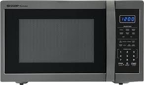 sharp carousel countertop microwave microwave oven black stainless steel sharp carousel 11 cu ft countertop microwave sharp carousel 11 cu ft 1000w