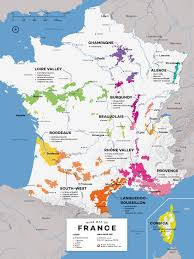 Wine Folly Chart French Wine Exploration Map Wine Folly