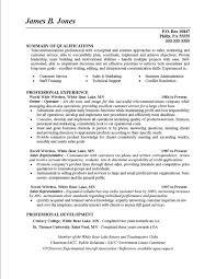 Skills And Qualifications For A Resume Musiccityspiritsandcocktail Com
