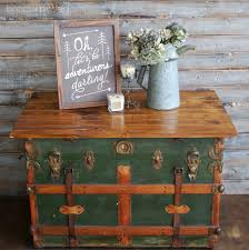 Places To Coffee Tables Steamer Trunk Turned Coffee Table Contributor Post