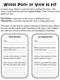christopher columbus point of view lesson literacy christopher columbus point of view lesson
