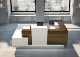 modern reception desks inbox reception furniture