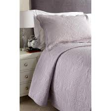 isabella quilted pillow cover zipped grey 50cm x 78cm internal