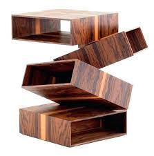 Wooden Furniture Design Unique Furniture Design With Warped Wood