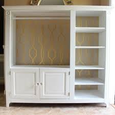 tv furniture ideas. old tv stand converted into a closet furniture ideas