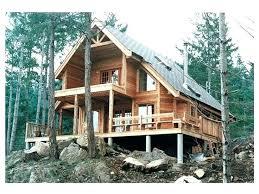 mountainside home plans a frame house plan rear log luxury full size