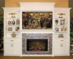 fireplace entertainment