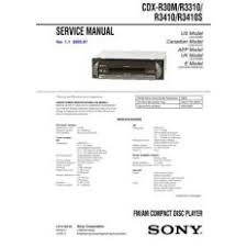 cdx for sale ioffer Sony Xplod Wiring-Diagram sony cdx mp450x service manual by download mauritron 2